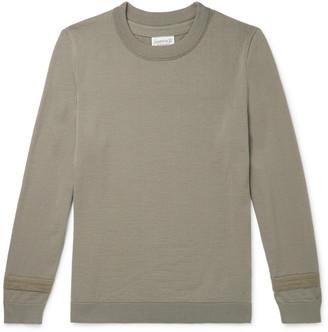 S.N.S. Herning Plan Striped Virgin Wool Sweater