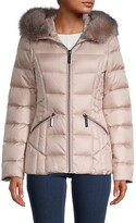 Thumbnail for your product : Dawn Levy Nikki Fox Fur Down Puffer Jacket