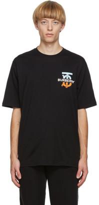 Burberry Black Monogram Ganther T-Shirt