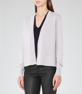 Reiss New Collection Rudy Open-Front Cardigan