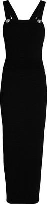 Balmain Rib Knit Maxi Dress