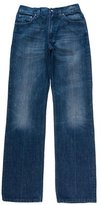 Gucci Five-Pocket Wide-Leg Jeans
