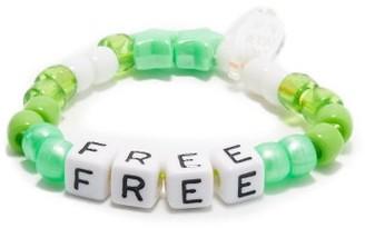 LAUREN RUBINSKI Free Beaded Bracelet - Green