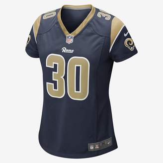 Nike Women's Game Football Jersey NFL Los Angeles Rams (Todd Gurley)