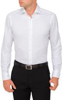 HUGO BOSS Plain Single Cuff Shirt