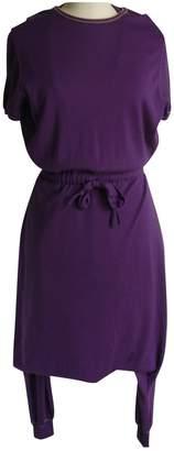 Saint Laurent Purple Cashmere Jumpsuits