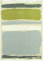 Sanderson Abstract Linden/Silver Rug - 170x240cm