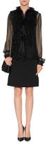 Alberta Ferretti Silk Blouse in Black