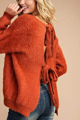 Eesome Faux Fur Sweater
