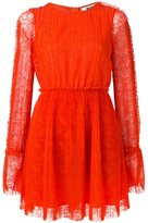 MSGM pleated mini dress - women - Polyester - 38