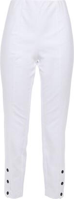 Rag & Bone Cropped Stretch-cotton Slim-leg Pants
