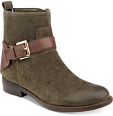 Tommy Hilfiger Safire Buckle Ankle Booties