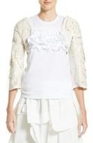 Comme des Garcons Women's Pvc & Cotton Bolero Jacket