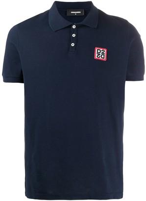DSQUARED2 Logo Patch Polo Shirt