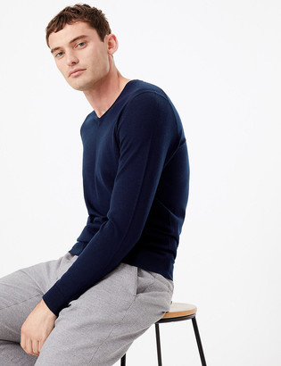 Marks and Spencer Pure Extra Fine Merino Wool V-Neck Jumper