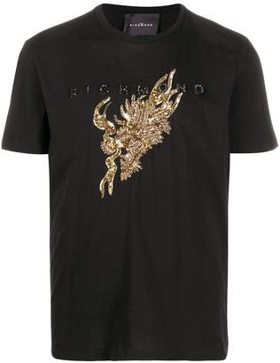 John Richmond sequin-embellished T-shirt