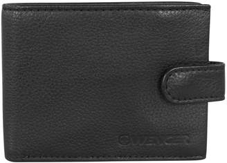 Wenger Swiss Boxed Leather Wallet with Coin Pocket