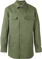 MACKINTOSH patch pocket over shirt - men - Cotton - 40