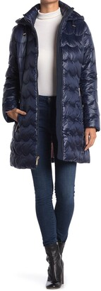 Kate Spade Down Scallop Coat