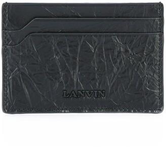 Lanvin Cracked Logo Cardholder