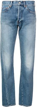Balenciaga New Twisted Leg denim jeans