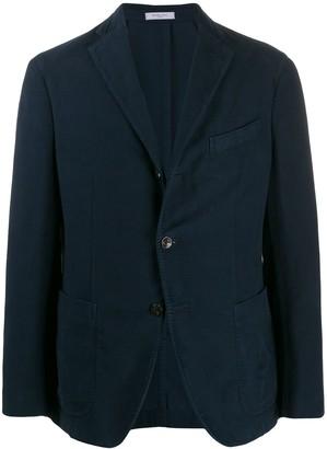Boglioli Single-Breasted Buttoned Jacket