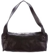 Rick Owens Grained Leather Shoulder Bag