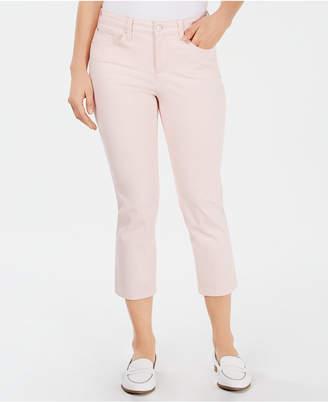Charter Club Petite Tummy-Control Bristol Capri Jeans