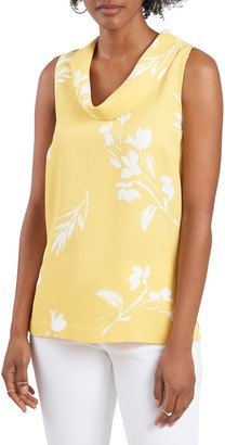Vince Camuto Cowl Neck Sleeveless Top