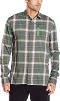 Icebreaker Men's Compass II Long Sleeve Plaid Shirt