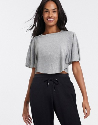 Free People Movement Sweet Thing cropped t-shirt