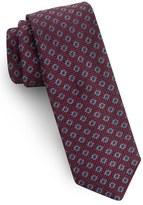 Ted Baker South Side Medallion Silk Skinny Tie