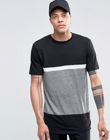 Antioch Cut and Sew Panel T-Shirt