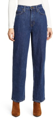 Lee High Waist Relaxed Stovepipe Jeans