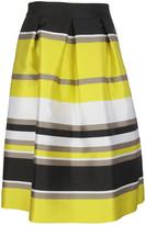 Blugirl Metallic A-line Skirt
