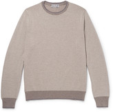 Canali Contrast-Trimmed Merino Wool Sweater