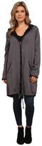 BB Dakota Irina Tencel Coat and Brushed Fleece Lining with PU Trim