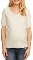Women's Rosie Pope 'Avery' V-Neck Maternity Sweater