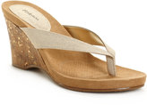 Style&Co. Chicklet Wedge Sandals