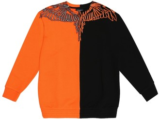 Marcelo Burlon County of Milan Kids Of Milan Wings cotton-jersey sweatshirt