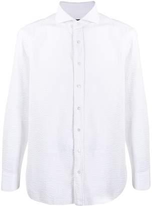 Lardini textured shirt