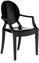 Kartell Louis Ghost Armchair - Glossy Black