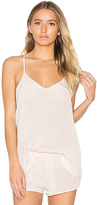 MAISON DU SOIR Luella Tank in Blush. - size S (also in )