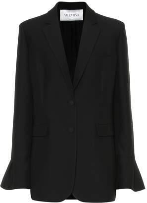 Valentino Wool and silk blazer