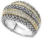 Lagos Diamond Caviar Beaded Ring