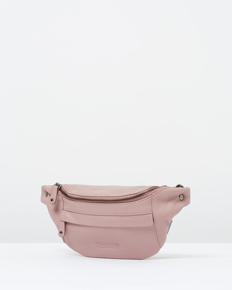 Stitch & Hide - Women's Pink Leather bags - Bailey Hip Bag - Size One Size at The Iconic