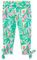Lilly Pulitzer Girl's Maia Tie Crop Leggings