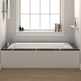 "Fine Fixtures Drop In or Alcove Bathtub 32"" x 48"" Soaking Bathtub"