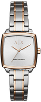 Armani Exchange Women's Square Bracelet Strap Watch