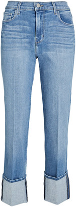 L'Agence Camila Cropped High-Rise Jeans